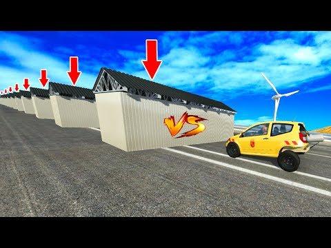 BeamNG Drive - Heavy BULLET #2  CrashTherapy