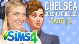 Single Girl's Daughter Joins A Secret Society In College In The Sims 4 | Part 3