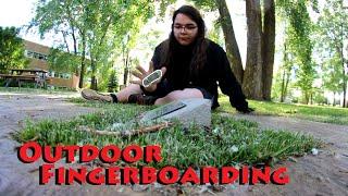 Fingerboard Adventures 2 : Trespassing / Best Outdoor Sesh Yet