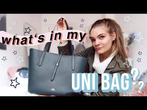 Meine UNI TASCHE als Design Student - Weekly Vlog #13 // I'mJette
