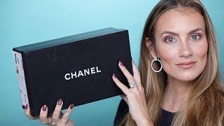 CHANEL UNBOXING! BALLET FLATS REVIEW- SHOULD I RETURN? | ANGELA LANTER | Angela Lanter