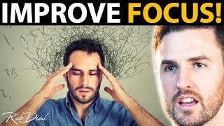 6 STEPS To Stay FOCUSED & PRODUCTIVE (Even On Boring Things) | Rob Dial