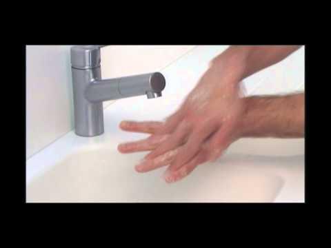 Техника мытья рук