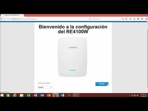 ROUTER RE4100W LINSKSYS MODO REPETIDOR