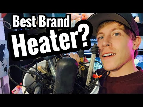 Best Aquarium Heater Brand Reviews? Fish Tank Q&A