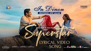 In Dinon | Lyrical Video | Superstar | Mahira Khan   - YouTube
