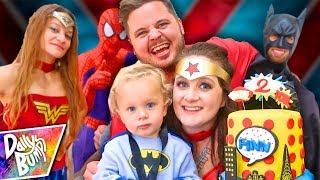 SUPERHERO BIRTHDAY PARTY SPECIAL! 💥 Finn's 2nd Birthday Party (w/ Super Surprise Guests!!)