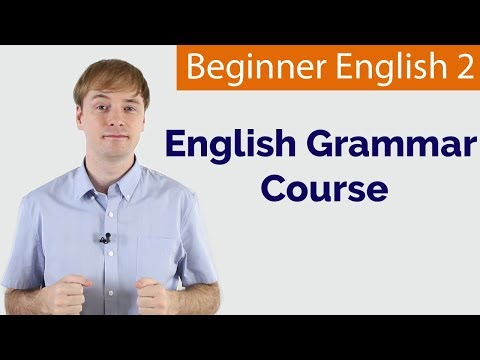 Basic English | Grammar Course For Beginners | 38 Lessons ...