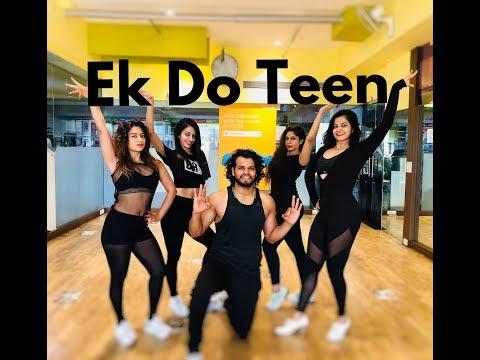 Ek Do Teen | Baaghi 2 | Zumba Dance Routine | Dil Groove Maare