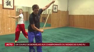 Reportage TV7 sur la préparation de Juliette et Benoit pour les championnats du monde !