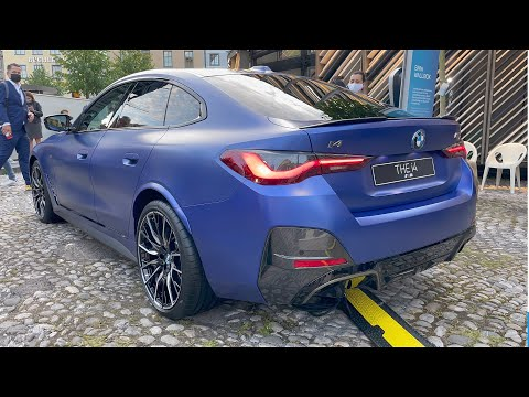 BMW i4 M50 2022 - FIRST Look in 4K | VISUAL REVIEW