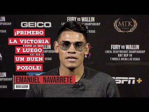 """""""Vaquero"""" Navarrete dice: """"Ganamos y luego un buen Pozole"""" #FuryWallin"""