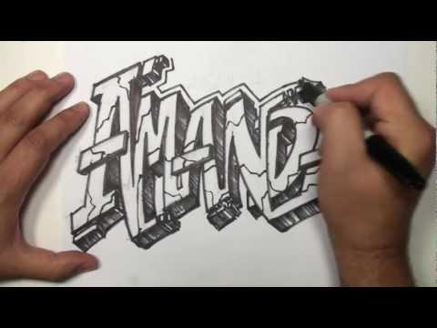 el rinc243n de pl225stica de 3186 dibujar letras tipo graffiti