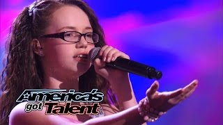 Mara Justine: Young Girl Belts Out
