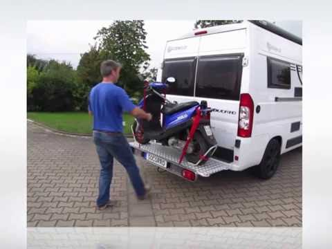 Rollerträger Motorradträger  Socorro A500 Fiat Kastenwagen Reisemobil