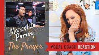 Marcelito Pomoy The Prayer Wish - Vocal Coach Reaction