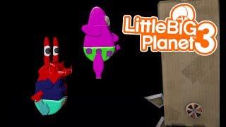 LittleBIGPlanet 3 - Derby SpongeBob Extreme DEATH RUN [Playstation 4]