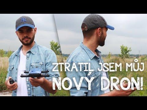ZTRATIL JSEM MŮJ NOVÝ DRON!