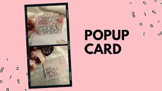 Bdy  pop up card   baby girl  greetings