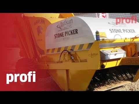 Tutkun Steinsammler 1,75 m /Stone picker /Сборщик камней