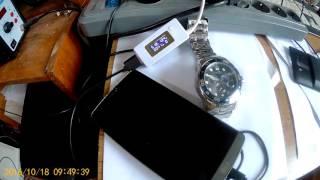 Замерить емкость аккумуляторов  увеличенной ёмкости LG G3 7500 mAh battery test