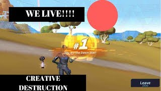 Creative Destruction Stream at the LIBRARY LOL!!!!!!Road to 300 subs!!!)