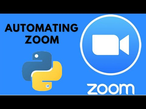 Building A Zoom Bot Which Logs Into Your Meeting / Classes For You (Python)