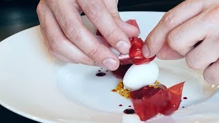 How to: Crispy Paper Pastry Garnish   TEALEAVES #FBintheKnow