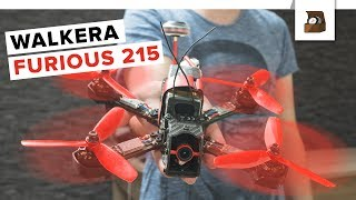 WALKERA FURIOUS 215 // FPV Racing Drohne RTF // Deutsch // FullHD