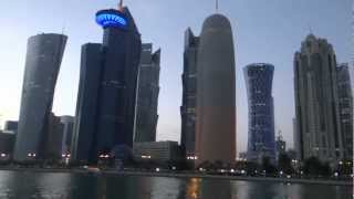 preview picture of video 'Doha, Qatar - Downtown and Dhow Cruise HD (2013)'