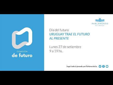 """Participación de Fernando Filgueira en jornada de trabajo """"Día del Futuro, Uruguay trae el futuro al presente"""""""