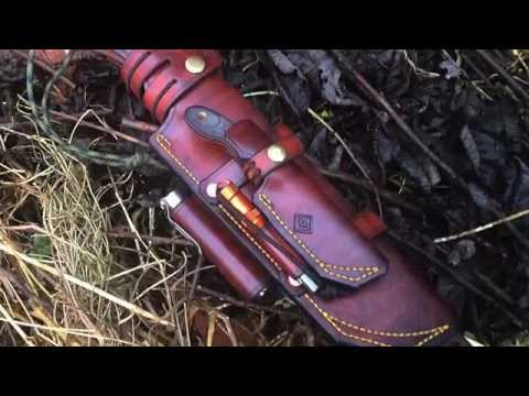 Custom Piggy Back Leather Sheath Mp3