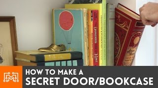Make a Secret Door/Bookcase