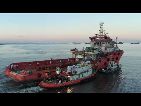 Relocation of three Offshore Support Vessels