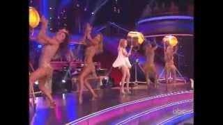 "DWTS-15, Kylie Minogue, ""The Loco Motion."" Results Show"