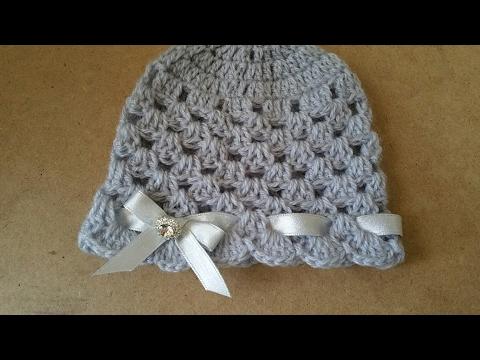 Cappello neonata uncinetto /crochet hat