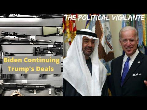 Biden Keeping Trump Era Arms Deal With UAE