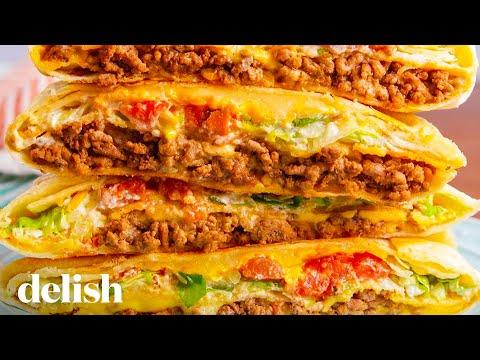 Taco Bell Copycat Crunchwrap Supreme | Delish