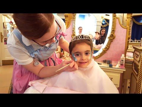 Emily Transform into Royal Disney Real Princess