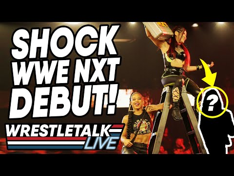 SHOCK WWE NXT DEBUT! WWE NXT Nov 13, 2019 Review! | WrestleTalk Live
