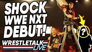 SHOCK WWE NXT DEBUT! WWE NXT Nov 13, 2019 Review! | WrestleTalk Live