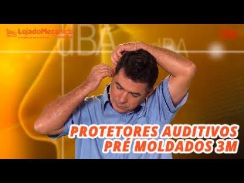 Protetor Auricular Pomp Plus com Cordão de Poliéster - Video