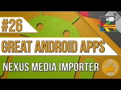 Video of Nexus Media Importer