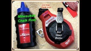 """Milwaukee 100"""" precision Chalk Reel Kit #48-22-3993"""