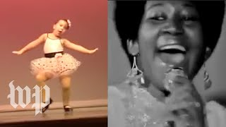 Pint-size tap dancer reflects on getting Aretha Franklin