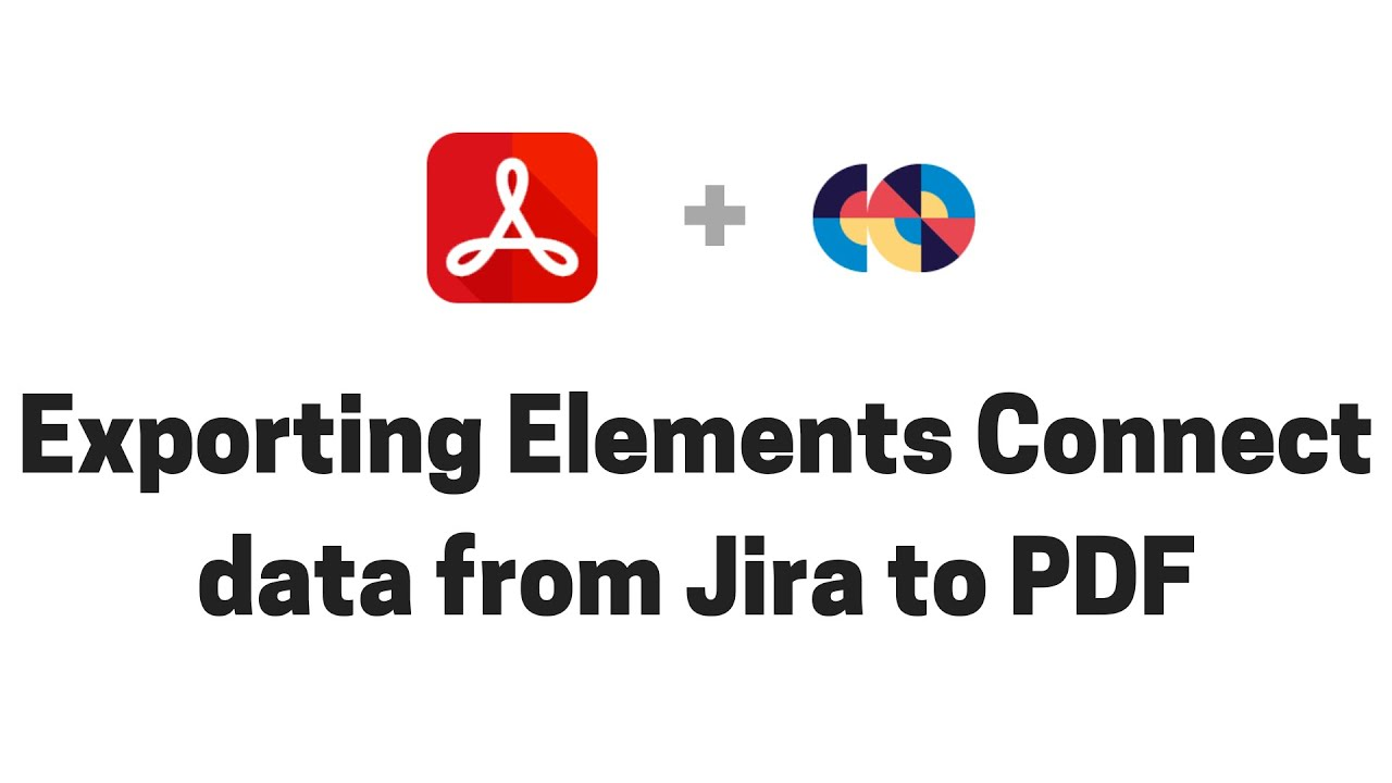 Exporting nFeed data from Jira to PDF