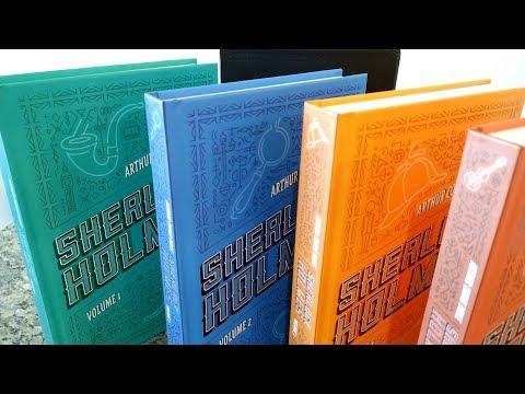 Box livros Sherlock Holmes