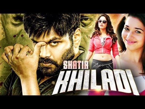 Download Shatir Khiladi (2016) Full Hindi Dubbed Movie   Tamanna Bhatia, Manoj Manchu, Mohan Babu HD Mp4 3GP Video and MP3
