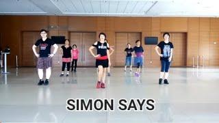 Line Dance SIMON SAYS ( BM Leong)