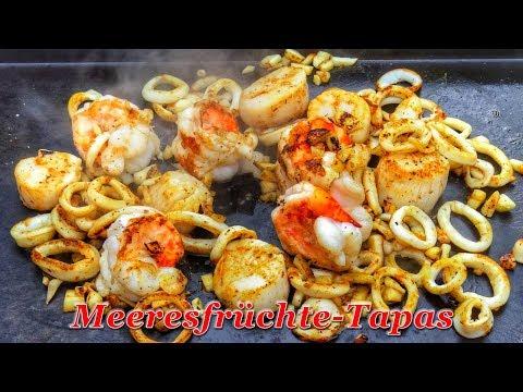 #310: Tapas: Meeresfrüchte von der Plancha